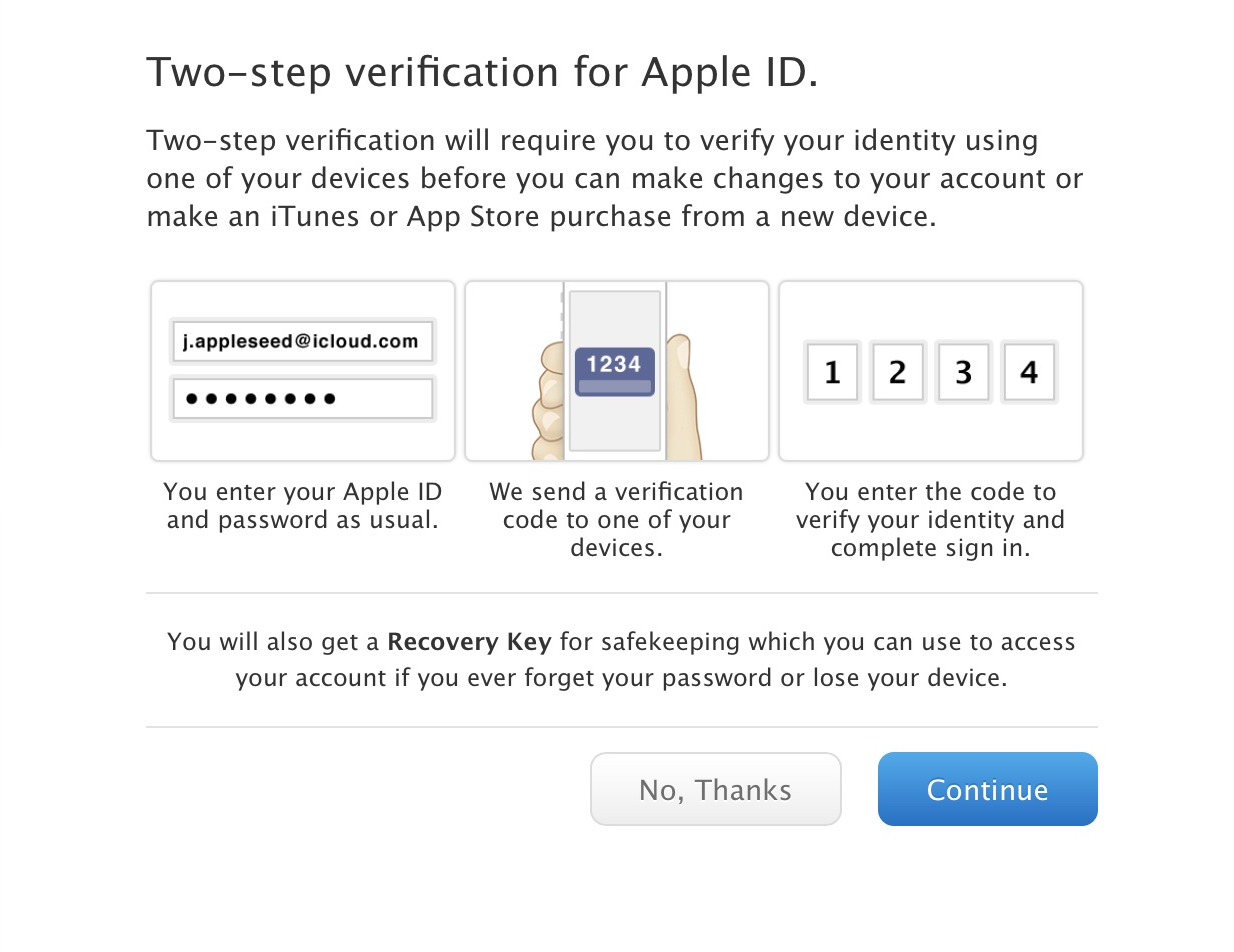 Enabling Two-Factor Authentication (2FA) for Apple ID and