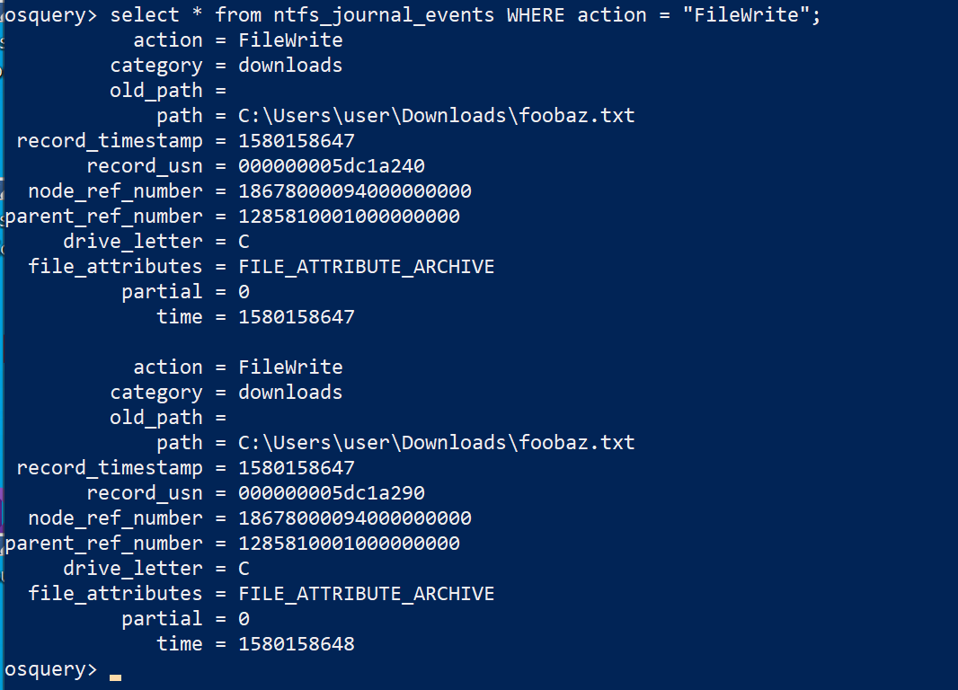 Real-time file monitoring on Windows with osquery - RapidAPI